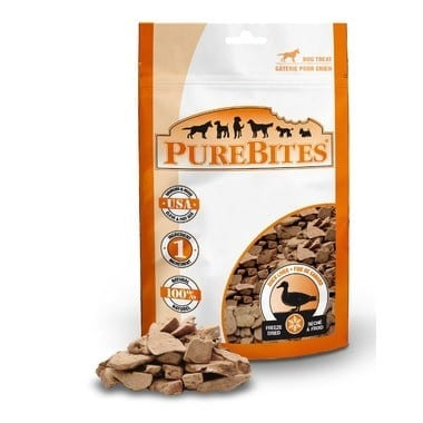 PureBites Freeze Dried Duck Treats For Dogs